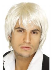 Boy Band Blonde Wig